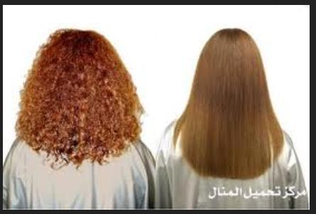 طريقه طبيعيه لفرد الشعر , فرد الشعر بالموز و التفاح