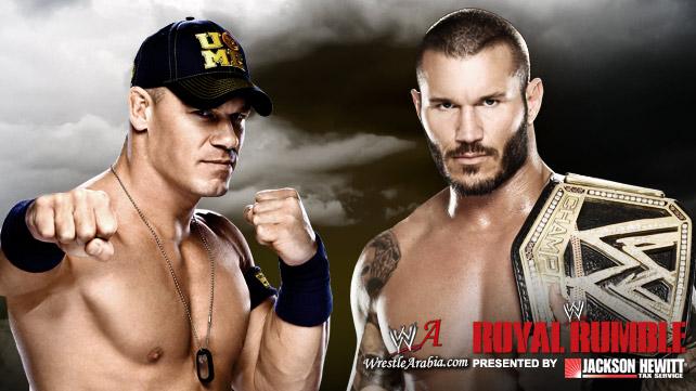 موجهات مصارعة عرض الرويال رمبل 2014 , مباريات مصارعة مهرجان Royal Rumble2014