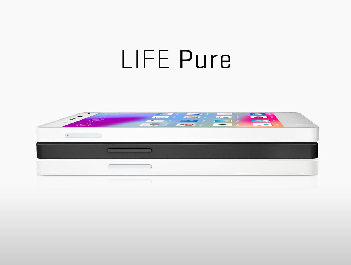 ��� ���� ��� ���� ���� 2014 , ����� ��� ���� ���� BLU Life Pure
