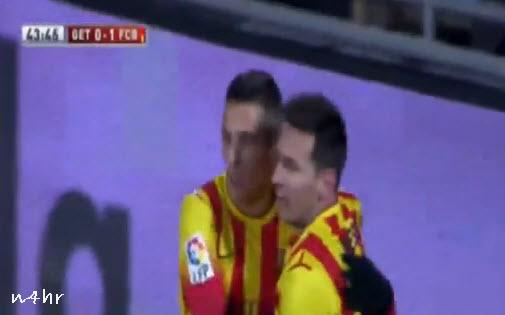 اهداف مباراة برشلونة وخيتافي 2-0 ||كأس ملك اسبانيا|| ||16-01-2014|| علي محمد علي