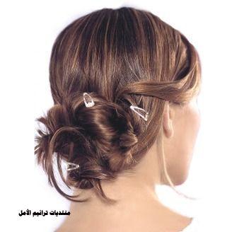 تسريحات شعر جميله لشعر العروس 2016 , تساريح عرايس رقيقه 2016