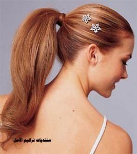 احدث تسريحات الشعر الطويل للمناسبات , تسريحات راقيه للشعر