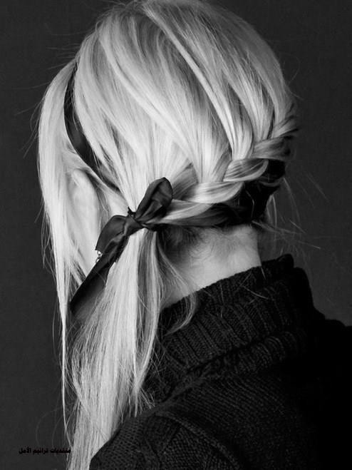 تساريح تهوس للبنات 2016 , ابسط تسريحات الشعر للبنات