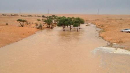 غرق 6 فتيات من عائلة واحدة بمستنقع مائي شرق الرياض