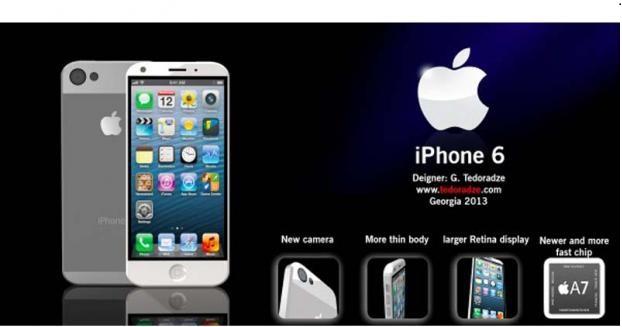 صور ايفون 6 , مميزات iphone 6 , ايفون 6 اول جهاز هجين من آبل سيطرح هذا العام فى الاسواق