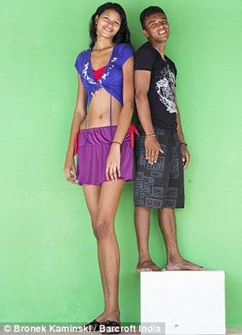 اطول فتاه بالعالم , صور اطول بنت في العالم