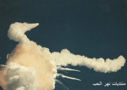 صور نادرة لانفجار مكوك الفضاء تشالنجر عام 1986