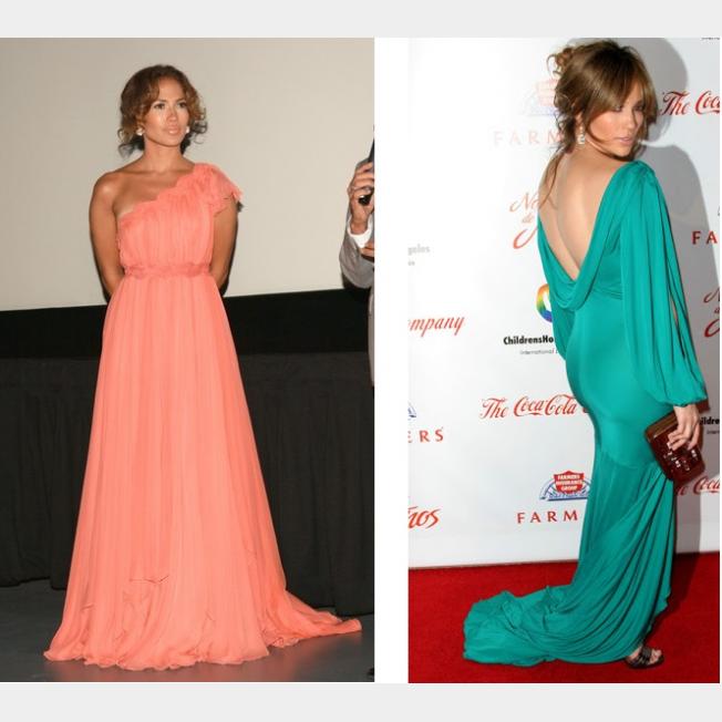 صور فساتين جنيفر لوبيز 2014 , أزياء جنيفر لوبيز 2014