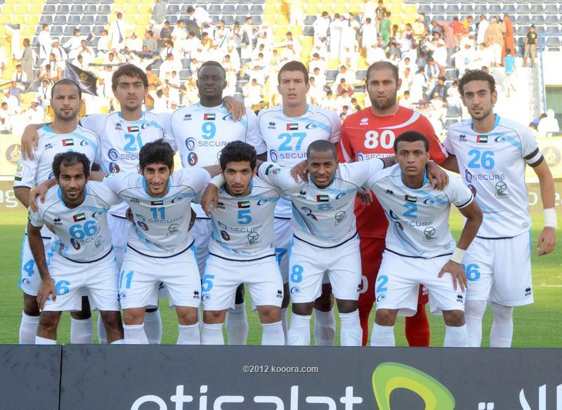 أهداف مباراة بني ياس و دبي في الدوري الاماراتي اليوم الخميس 23-1-2014