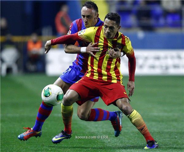 نتيجة مباراة برشلونة و ليفانتي في كأس ملك اسبانيا اليوم الاربعاء 22-1-2014