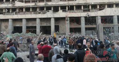 يوتيوب انفجار مديرية أمن القاهرة اليوم الجمعه 24 يناير 2014 , فيديو لحظة انفجار مديرة امن القاهرة