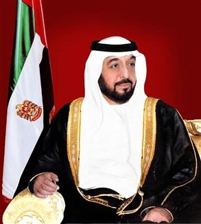 جلطة تصيب الشيخ خليفة بن زايد في عيد ميلاده اليوم السبت 25-1-2014