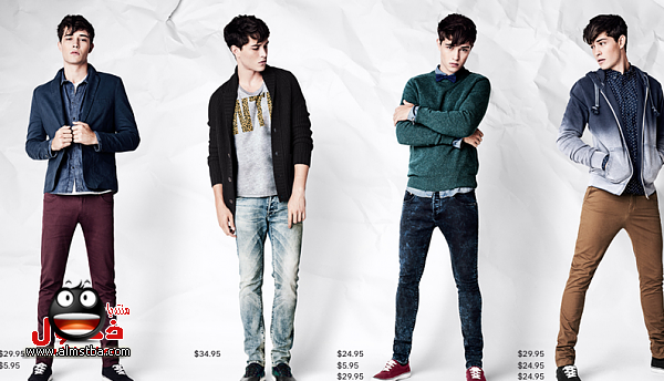 صور ملابس شباب شتوي كاجوال 2015 , أحدث ملابس الشباب لشتاء 2015