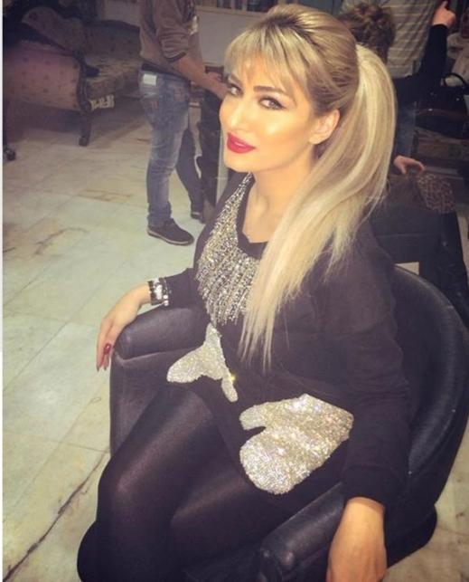 صور صبغات شعر الفناة هبة نور , الوان شعر الفنانة السورية هبه نور , تسريحات شعر هبة نور
