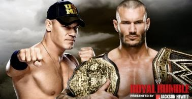 The winner in the face of the title WWE Heavyweight between Randy Orton and John Cena at the Royal R