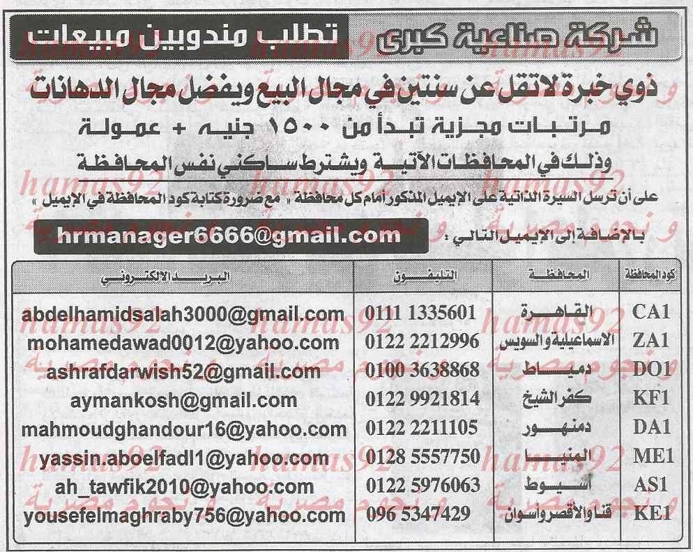 وظائف جريدة الاهرام اليوم الاربعاء 29-1-2014 , وظائف خالية في مصر 29 يناير 2014