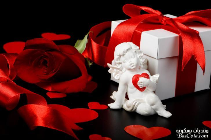 رسائل تهنئة بعيد الحب , مسجات تهنئة الحبيب و خطيب بعيد الحب الفلانتين