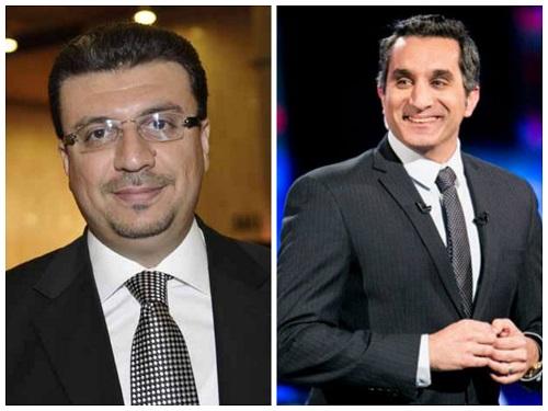 برنامج بوضوح - حلقة الاعلامي و الدكتور باسم يوسف مع عمر الليثي اليوم السبت 1 فبراير 2014