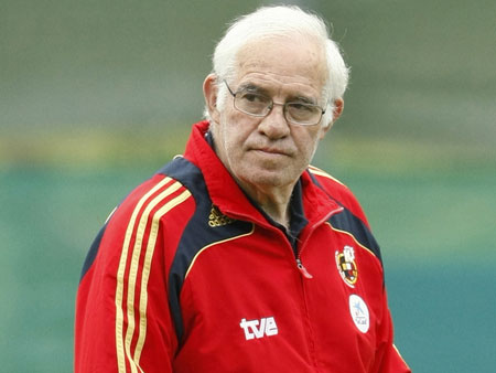 The death of Spanish coach Luis Aragones on Saturday 02/01/2014