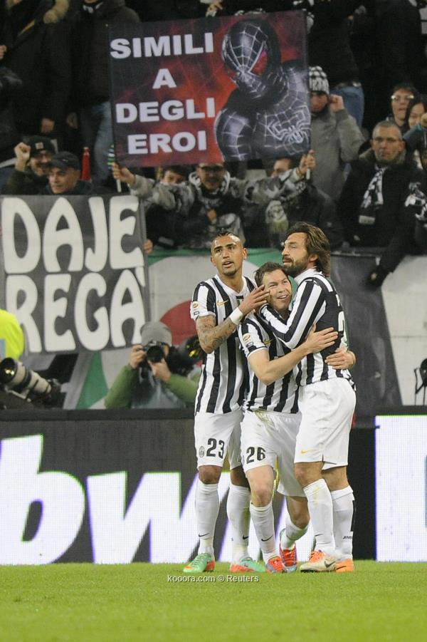 نتيجة مباراة يوفنتوس و انثر ميلان في الدوري الايطالي اليوم الاحد 2-2-2014