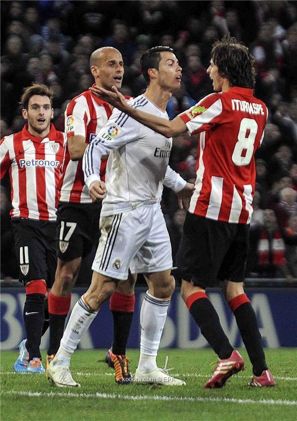نتيجة مباراة ريال مدريد و أتليتك بلباو في الدوري الاسباني اليوم الاحد 2-2-2014