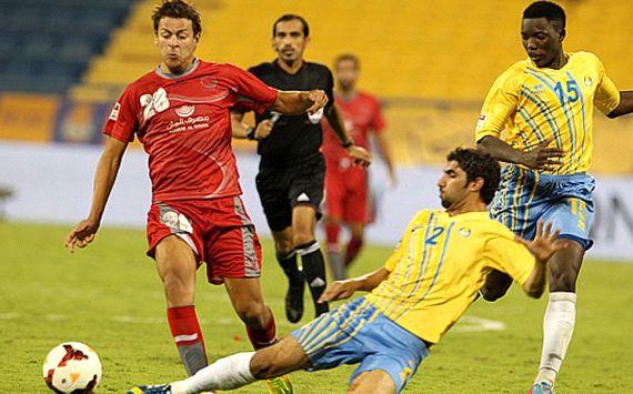 أهداف مباراة لخويا والغرافة في دوري نجوم قطر اليوم الثلاثاء 4-2-2014