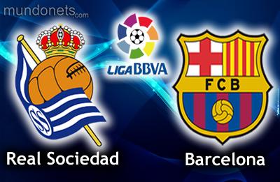 موعد و توقيت مباراة برشلونة وريال سوسيداد والقنوات الناقلة اليوم 5/2/2014 فى نصف نهائى كأس أسبانيا