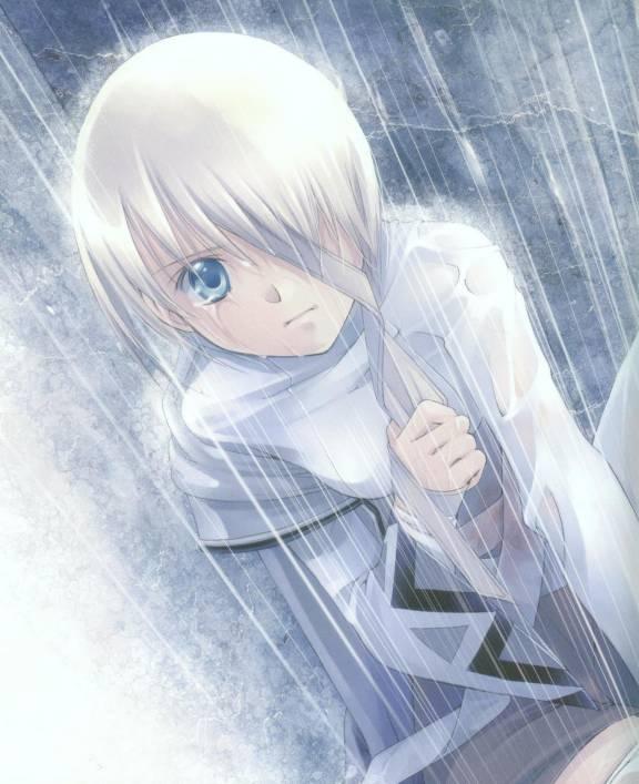 صور انمي تحت المطر, صور كرتون بنات رومانسية تحت المطر
