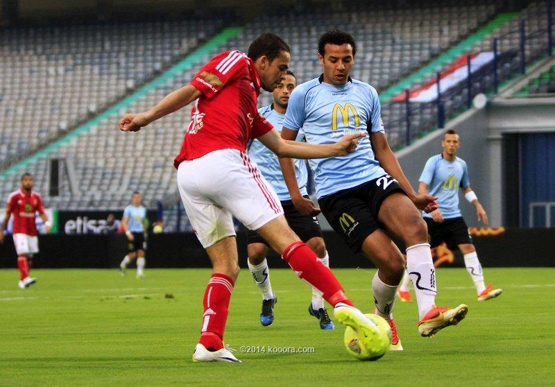 نتيجة مباراة الاهلي و غزل المحلة في الدوري المصري اليوم الخميس 6-2-2014