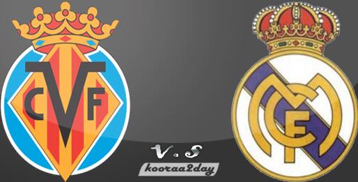 مشاهدة مباراة ريال مدريد وفياريال اليوم السبت 8-2-2014 على قناة بي أن سبورت Bein Sports 2, HD2