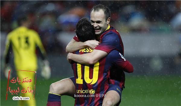 نتيجة مباراة برشلونة و إشبيلية في الدوري الاسباني اليوم الاحد 9-2-2014