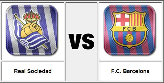 ������ ������� ����� ������� , ������� ������� �������� 12/2/2014 Barcelona v Real Sociedad