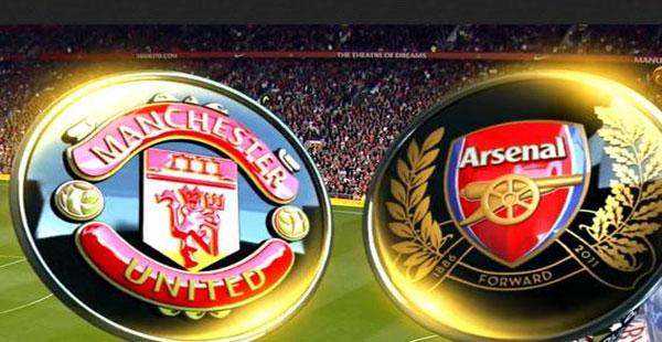 القنوات المجانية التي تذيع مباراة الارسنال ومانشستر يونايتد اليوم الاربعاء 12/2/2014