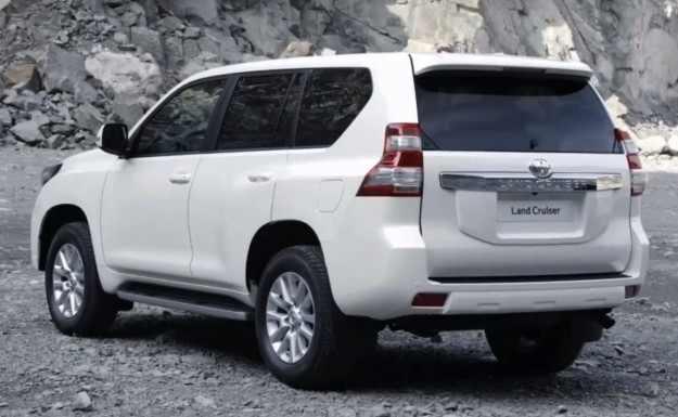 ����� � ������ ������ Toyota Prado 2014