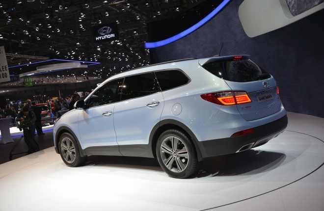 ����� ������� ������ ������� ����� ������ 2014 Hyundai Grand Santa fe