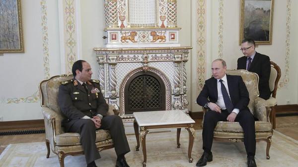 زيارة عبد الفتاح السيسي الي روسيا اليوم 2014
