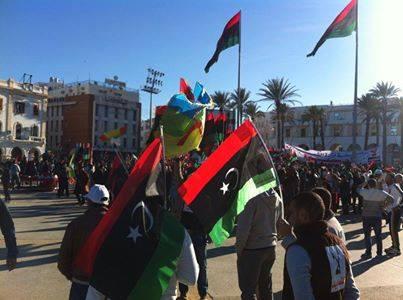اخر اخبار مدن ليبيا اليوم السبت 15/2/2014 , صور عبدالله منصور فور وصوله إلى طرابلس