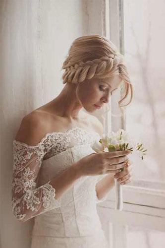 صور تسريحات عرايس جديدة لعام 2018 , تسريحات شعر للعروسة, اجمل تسريحات شعر للافراح