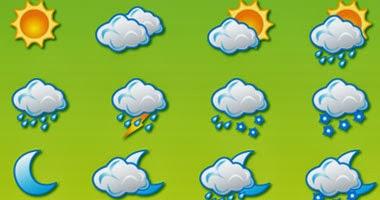 حالة الطقس ودرجات الحرارة المتوقعة اليوم السبت وهو الموافق 16 فبراير 2014 بجمهورية مصر العربية