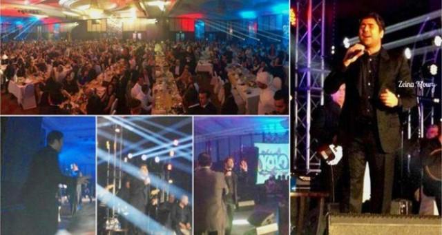 وائل كفوري يتألق في حفل عيد الحب بدبي 14/2/2014, صور وائل كفوري في عيد الحب السبت 14/2/2015