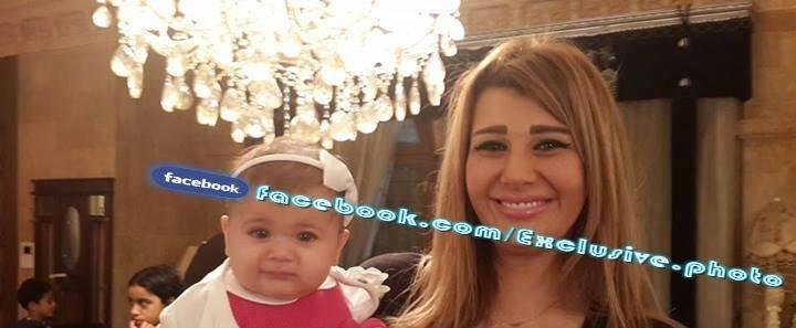 شاهد صورة يارا نعوم مع بنتها تمارا اليوم , صور يارا نعوم زوجة عماد متعب 2014