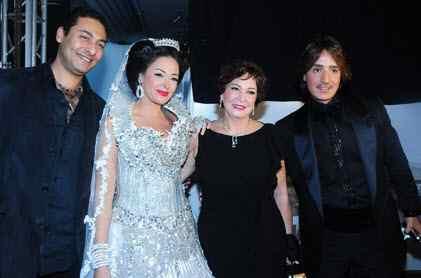 صور أبناء وعائلة الفنانة داليا البحيرى , صور داليا البحيري مع زوجها فريد المرشدى