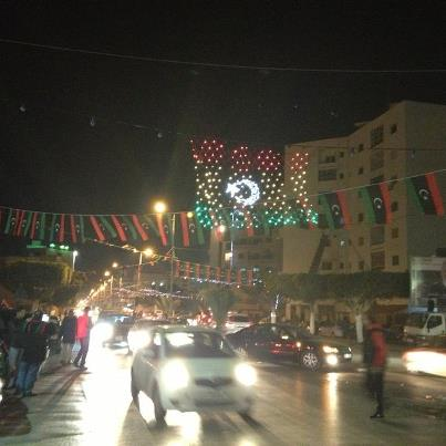 احتفالات طرابلس بذكري الثالثة لثورة 17/2/2014 , صور احتفالات ميدان الشهداء في الذكري الثالثة لثورة