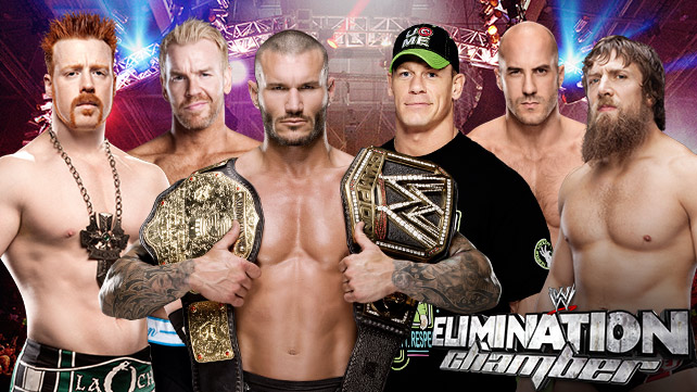 ������� ������ WWE Elimination Chamber 2014 , ������ ���������