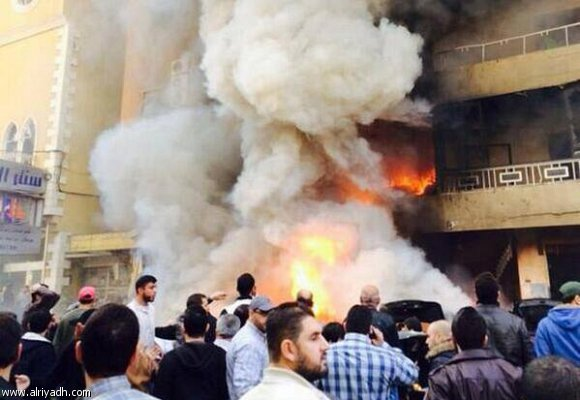 اخبار بيروت اليوم الاربعاء 19/2/2014 , صور الانفجار في الضاحية الجنوبية 2014