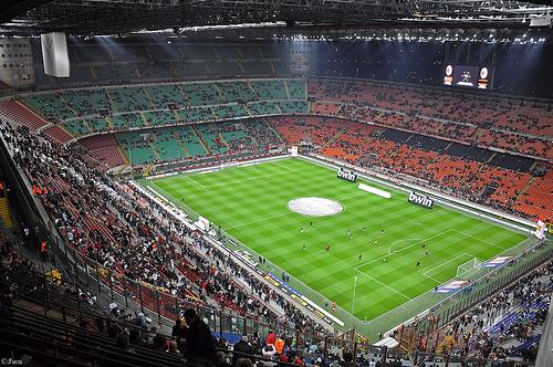 AC Milan vs Atletico Madrid 19/2/2014 Champions League