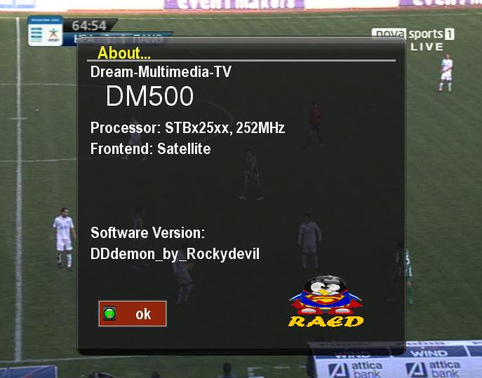 صورة DDdemon و ايمو CCcam2.1.3 مدموج بالصورة