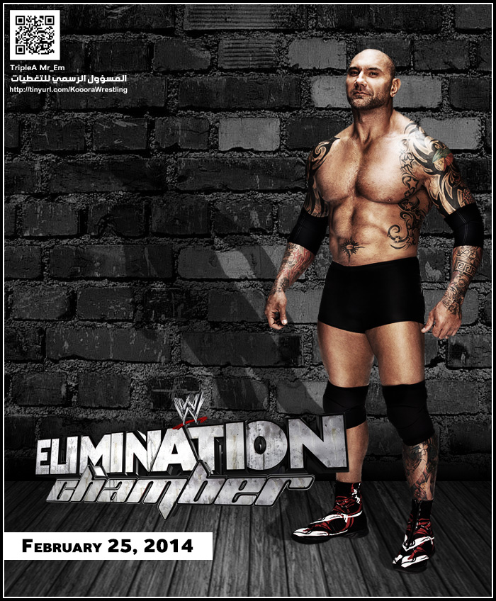 القنوات المجانية التي تذيع مهرجان المصارعة اليمناشن شيمبر Elimination Chamber 2014