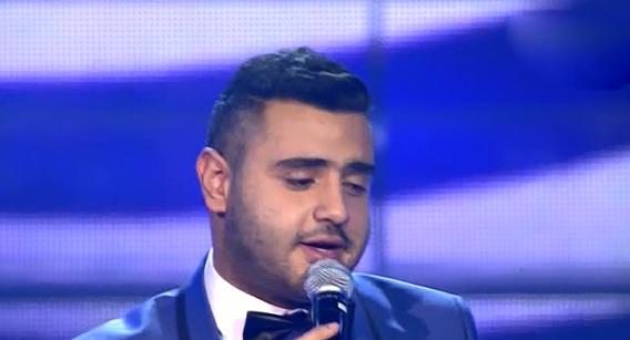 يوتيوب اغنية إللي نساك خالد الخياط برنامج ذا فويس العروض المباشرة يوم السبت 22/2/2014