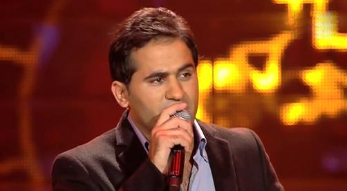 يوتيوب اغنية من غير ليه احمد حسين برنامج ذا فويس العروض المباشرة اليوم السبت 22/2/2014